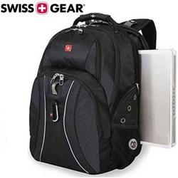 کوله پشتی لپ تاپ ونگر SwissGear مدل SmartScan Black