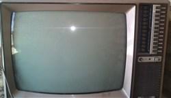 تلوزیون رنگی قدیمی