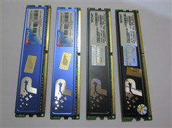 4 عدد رم Patriot 1GB 240-Pin DDR2 SDRAM DDR2 800