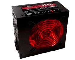 پاور- Power  -OCZ Fatal1ty 550W PSU-EU - Red Light
