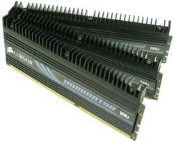 رم کامپیوتر - RAM PC  -Corsair Dominator Series Triple 6GB FSB 1600