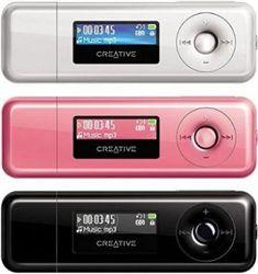 MP3 & MP4 Player كريتيو-Creative MuVo T200 2GB
