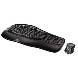 كيبورد - Keyboard لاجيتك-Logitech Cordless Desktop Wave