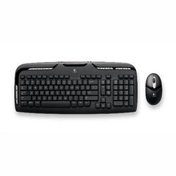 كيبورد - Keyboard لاجيتك-Logitech Cordless desktop EX110 Refresh