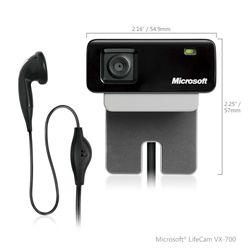 وب كم - Webcam مايكروسافت-Microsoft LifeCam VX-700