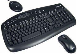كيبورد + موس مايكروسافت-Microsoft Wireless Optical Desktop 1000