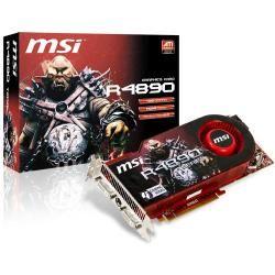 كارت گرافيك - VGA ام اس آي-MSI RADEON 4890 1GB   -  R4890-T2D1G-OC