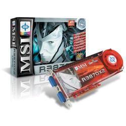 كارت گرافيك - VGA ام اس آي-MSI RADEON 3870 1GB - R3870X2-T2D1G