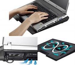پايه و خنك كننده لپ تاپ  كولر مستر-Cooler Master NotePal Infinite