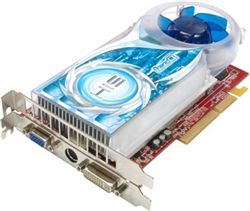 كارت گرافيك - VGA  -HIS X1650 IceQ 512 Mb - H165QS512P