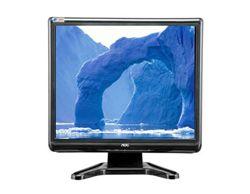 """مانیتور ال سی دی -LCD Monitor اي او سي-AOC LCD 17"""" - 177SA"""
