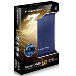 هارد اكسترنال - External H.D  -SILICON POWER A80 Armor USB3 1TBضدآب+ضدضربه+رمزگذاری