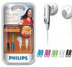 هدست - ميكروفن - هدفون فیلیپس-PHILIPS Headphone SHE-2610