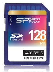 كارت حافظه / Memory Card  -SILICON POWER Industrial SD Card - 128MB