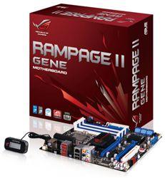 مادربورد - Mainboard ايسوس-Asus - Rampage II GENE