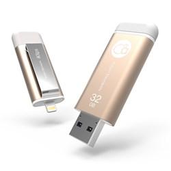 حافظه فلش / Flash Memory آدام المنت-ADAM elements 32GB iKlips Lightning-USB 3.0