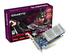 كارت گرافيك - VGA گيگابايت-Gigabyte HD 3450 RX345256H - 256 Mb