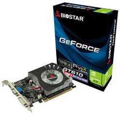 كارت گرافيك - VGA بایواستار-BIOSTAR GeForce GT610-2GB DDR3-VN6103THX6 ATX