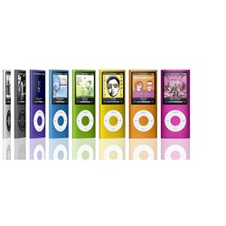 MP3 & MP4 Player اپل-Apple  iPod Nano 16GB Orange