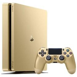کنسول بازی سونی-SONY PlayStation 4 Slim-PS4 - Region 1 CUH-2015B -1TB-GOLD-طلایی