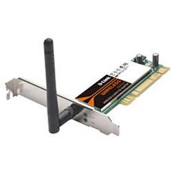 كارت شبكه-LAN-WAN دي لينك-D-Link - Wireless PCI Adapter DWA-520