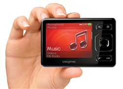 MP3 & MP4 Player كريتيو-Creative ZEN MX 16GB