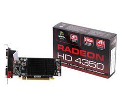 كارت گرافيك - VGA ايكس اف ايكس-XFX ATI HD4350 512MB DDR2