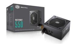 پاور- Power كولر مستر-Cooler Master MasterWatt 550W- 80Plus Bronze