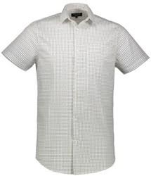 پیراهن مردانه نیو لوک-New Look نخی آستین کوتاه - رنگ سفید - 5125218