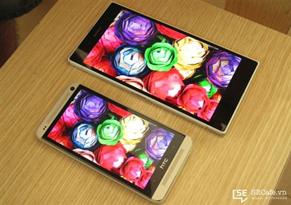 صفحه نمایش اکسپریا Z الترا سونی در برابر صفحه نمایش HTC One