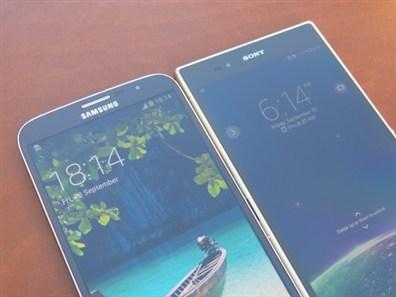 مقایسه Xperia z Ultra با Samsung Galaxy Mega