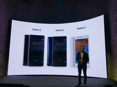 نوکیا 3 موبایل اندرویدی جدید معرفی کرد