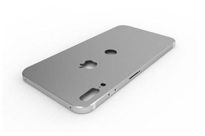 رندر جدید آیفون 8 مشابه آیفون 5 و مجهز به دوربین دوگانه عمودی است