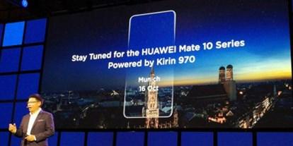 گوشیهای میت 10 و میت 10پلاس هوآوی به پردازنده پرقدرت کایرین 970 مجهز خواهند بود