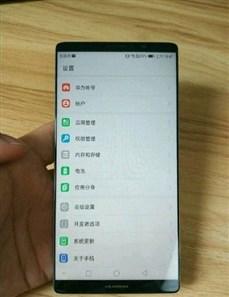 انتشار اولین تصویر واقعی از گوشی میت 10 هوآوی؛ نبود دکمه هوم در پنل جلویی