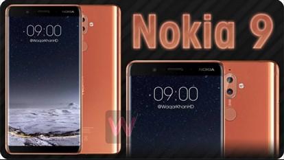 تصاویری جدید نوکیا 9 از طراحی بدون حاشیه این گوشی خبر میدهند