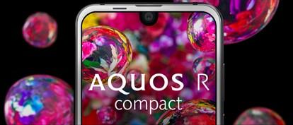 با گوشی جدید Aquos R Compact شرکت شارپ آشنا شوید