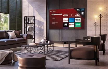 شرکت TCL از تلویزیون های 4K مجهز به طراحی فلزی و دالبی ویژن HDR رونمایی کرد