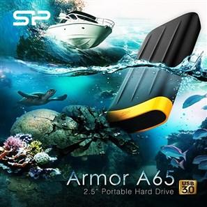 فروش ویژه هارد اکسترنال مقاوم در برابر ضربه و آب سیلیکون پاور 2 ترابایت مدل  Armor A65