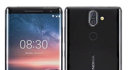نگاه نزدیک و بررسی اولیه گوشی جدید  Nokia 8 Sirocco