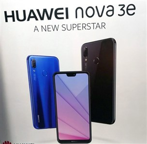 هوآوی Nova 3e همان مدل P20 لایت برای عرضه در کشور چین خواهد بود