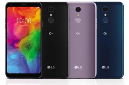 الجی از سه مدل گوشی LG Q7  مجهز به فنانوری صوتی DTS پرده برداشت