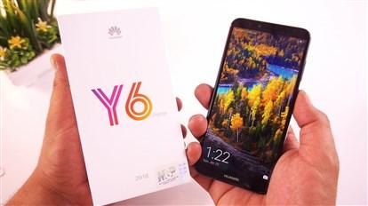 جعبه گشایی و بررسی گوشی جدید HUAWEI Y6 PRIME 2018