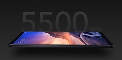 گوشی شیائومی Mi Max 3  با نمایشگر 6.9 اینچی و باتری 5500 میلی آمپری و قیمت 252 دلار  از راه رسید.