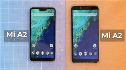 بررسی و نگاه نزدیک به گوشی های جدید شیائومی Mi A2 و Mi A2 lite