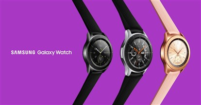 با Galaxy Watch سامسونگ آشنا شوید؛ دو سایز متفاوت با عمر باتری چند روزه