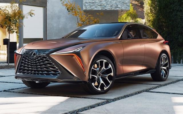 لکسوس  از خودروی مفهومی جدید خود با نام LF-1 Limitless  رونمایی کرد