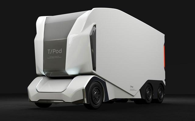 تماشاکنید: اولین کامپیوتر کاملا  برقی و خودران بدون نیاز به راننده جهان با نام T-pod