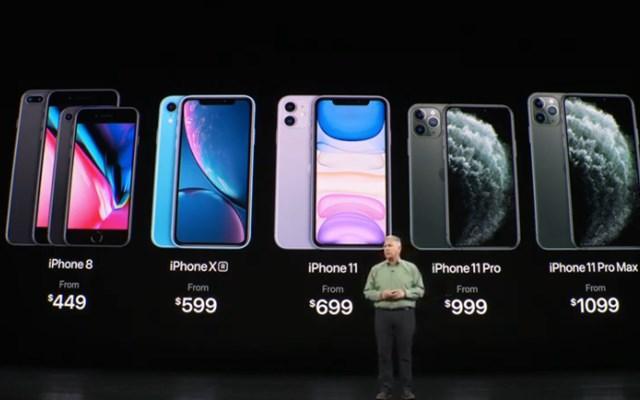 قیمت گوشی های اپل  آیفون  iPhone 11، iPhone 11 Pro و iPhone 11 Pro Max اعلام شد