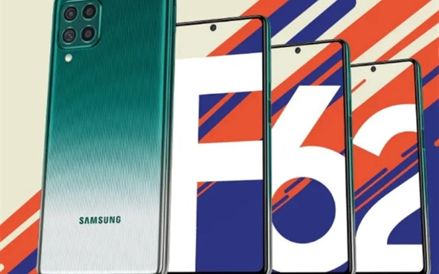 Galaxy F62 سامسونگ با باتری 7000 میلی آمپر ساعتی معرفی شد.